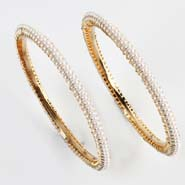 Evergreen Pearl Bangles