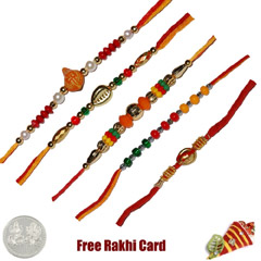 Mauli Rakhi Set of 5 /></a></div><div class=