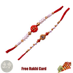 Mauli Rakhi Set of 2