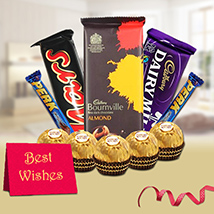 New Year Delectable Choco Hamper