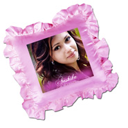 Memoreble Personalized Pink Pillow