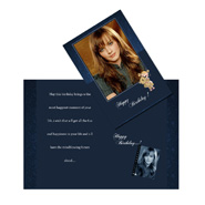 Happy birthday personalized greeting card 451