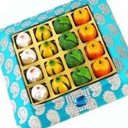 Fruit Mithai Tray
