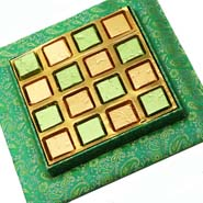 Green Assorted Chocolate Tray