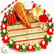 Cane Pooja Thali