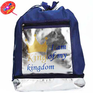King Blue Bag