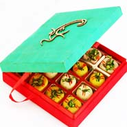 Om Green Mix Mithai Box