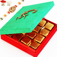 Sugarfree Om Green Chocolate Box