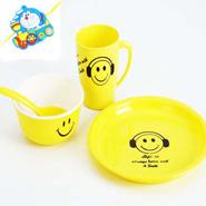 Smiley Plate Set