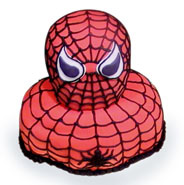 Spiderman Shape Cake