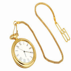 Gold Plated Pocket Watch - 299