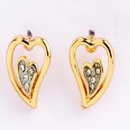 Heart Earings- Earf91059