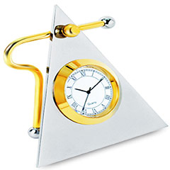 Triangle Clock BTC - 116