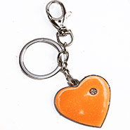 Glowing Heart Keychain
