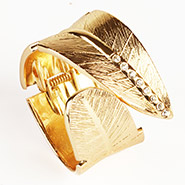 Gold Broad  Leaf Band