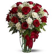 Roses-Gift-Red-White25