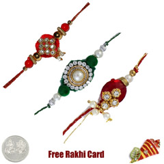 Zardosi Rakhi Set of 3 /></a></div><div class=