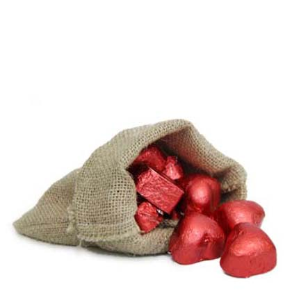 Chocolates In Jute Bag