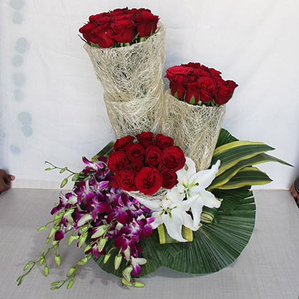 Beauty of Flower Baskets