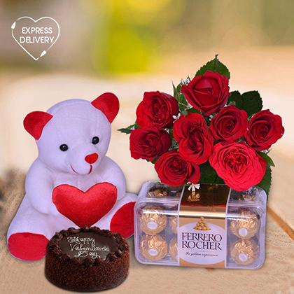 Adorable & Chocolaty Valentine Surprise