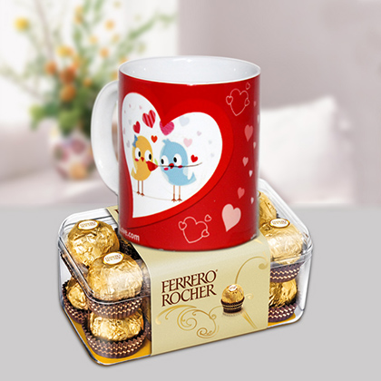 Love mug with Ferrero
