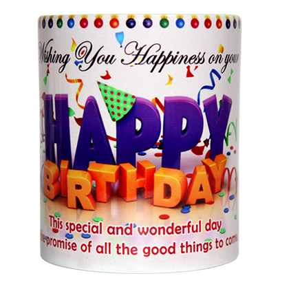 Happy Birthday Quotation Mug